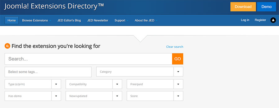 Joomla Extensions Directory - Virgo Web Design Blog