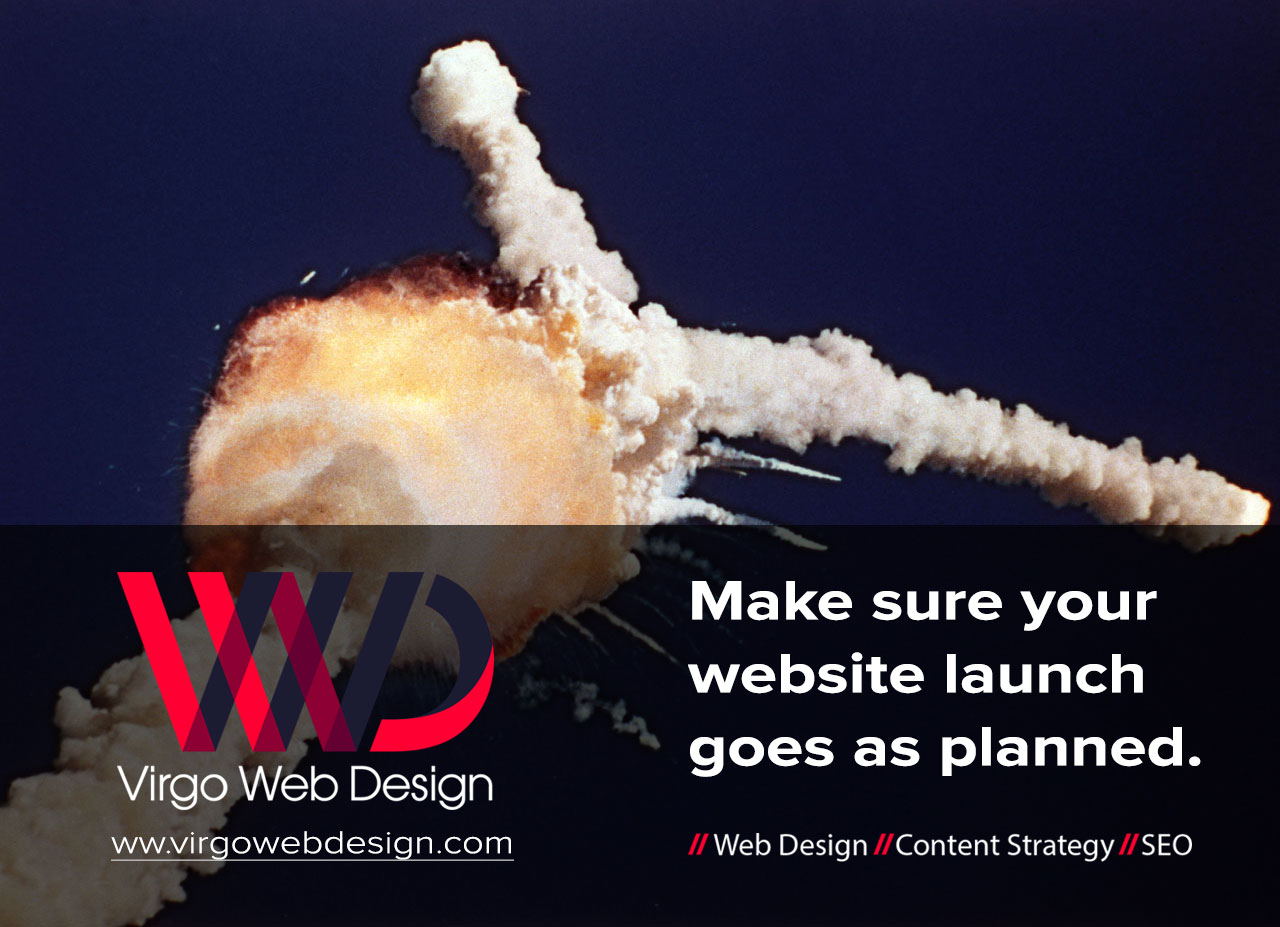 Virgo Web Design - Challenger Fail Ad