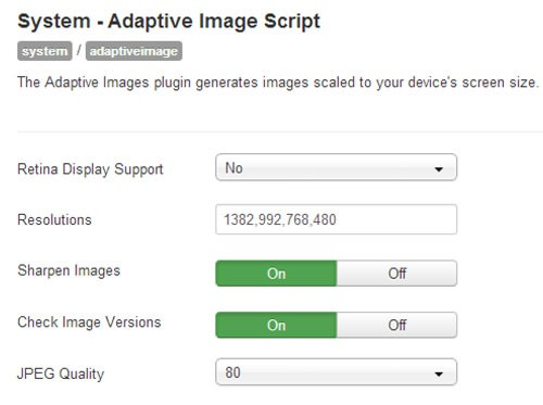 Free Plugin! Adaptive Images Plugin for Joomla 2.5x 3.x