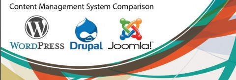 Wordpress vs Joomla vs Drupal - CMS Comparison