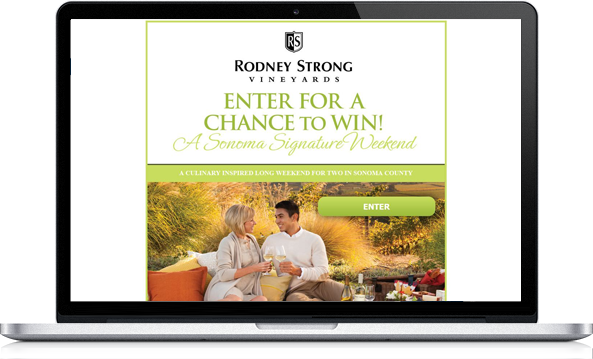 Virgo Web Design Portfolio - Rodney Strong Vineyards