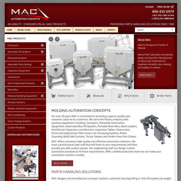 Virgo Web Design Portfolio - Mac Automation